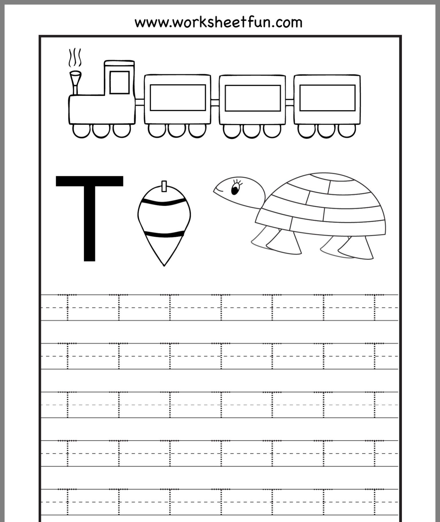18 Best Toddler Alphabet Worksheets Images On Best