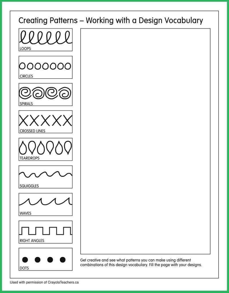 medium resolution of Patterns #artideas   Art Ideas   Art Worksheets