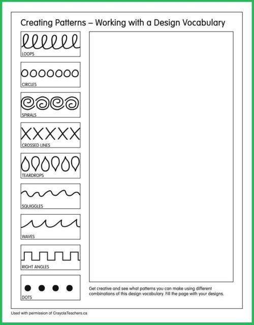 small resolution of Patterns #artideas   Art Ideas   Art Worksheets