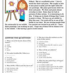 Famous Artist Study Worksheet   Art Worksheets   Art Worksheets [ 1440 x 1018 Pixel ]