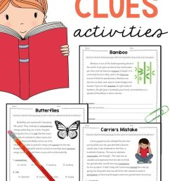 Vocabulary: Practice Using Context Clues Worksheets Grades 4-6 on Best  Worksheets Collection 6907 [ 1472 x 736 Pixel ]
