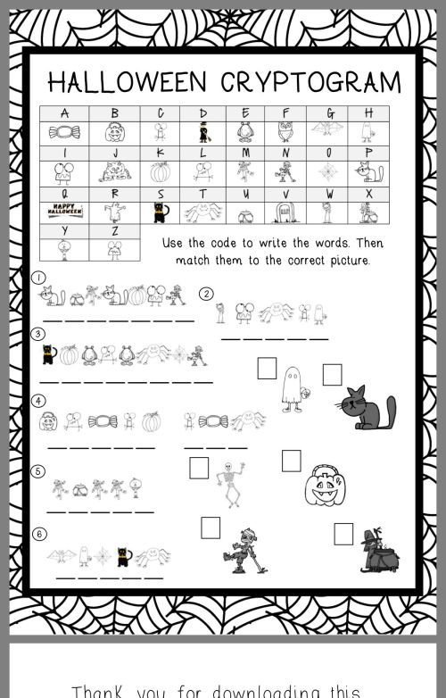 small resolution of Pin By Jackie Parker On Science 6   Halloween Worksheets