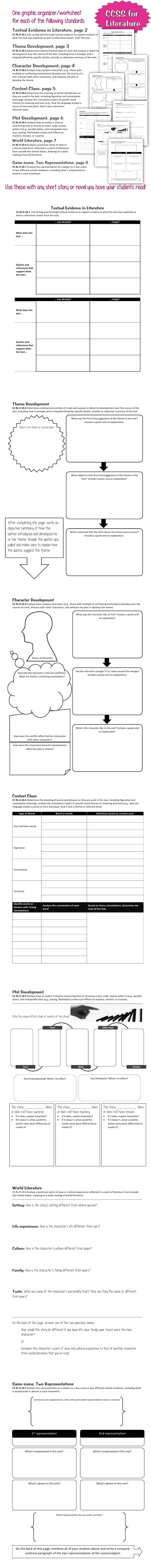 hight resolution of 14 Best Graphic Organizer Worksheets images on Best Worksheets Collection