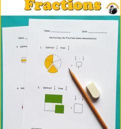 Fractions Worksheets [ 1103 x 735 Pixel ]