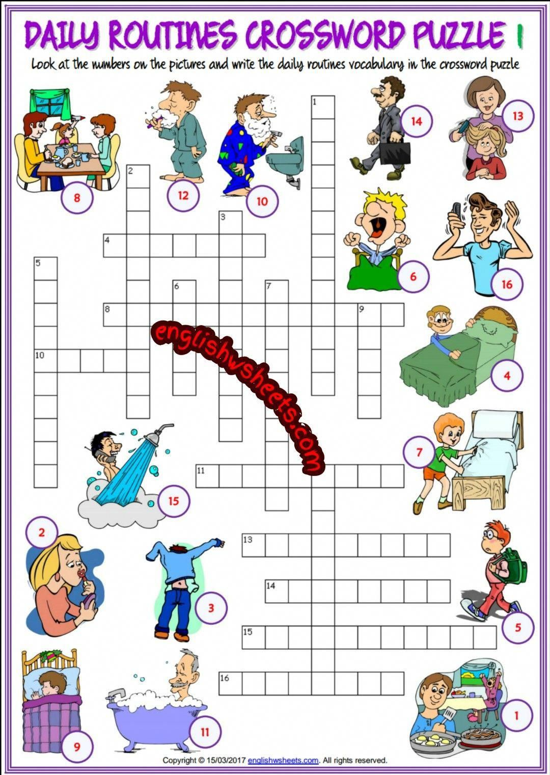 13 Best Puzzle Worksheets Images On Best Worksheets Collection