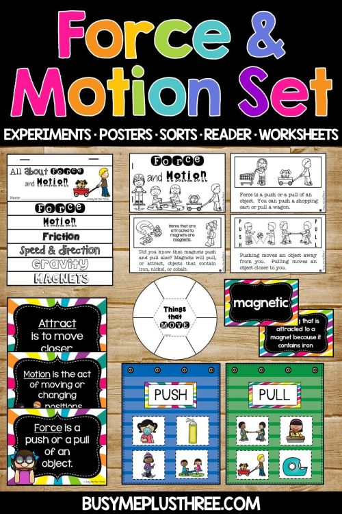 small resolution of Force And Motion Worksheets Science Experiments And Activities on Best  Worksheets Collection 6064