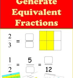 Equivalent Fractions Worksheets 3rd [ 1103 x 735 Pixel ]