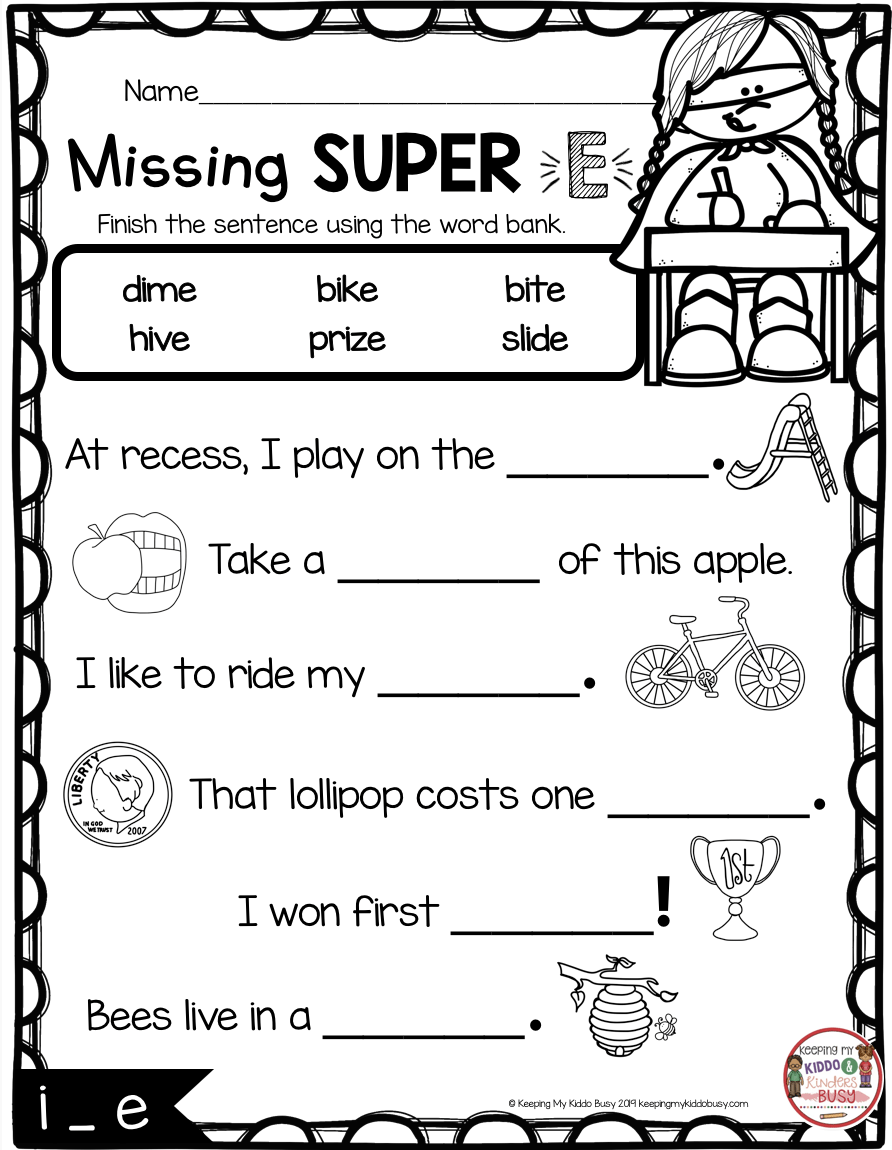 hight resolution of Bossy R No Prep Printables (phonics Worksheets For R Controlled on Best  Worksheets Collection 2175
