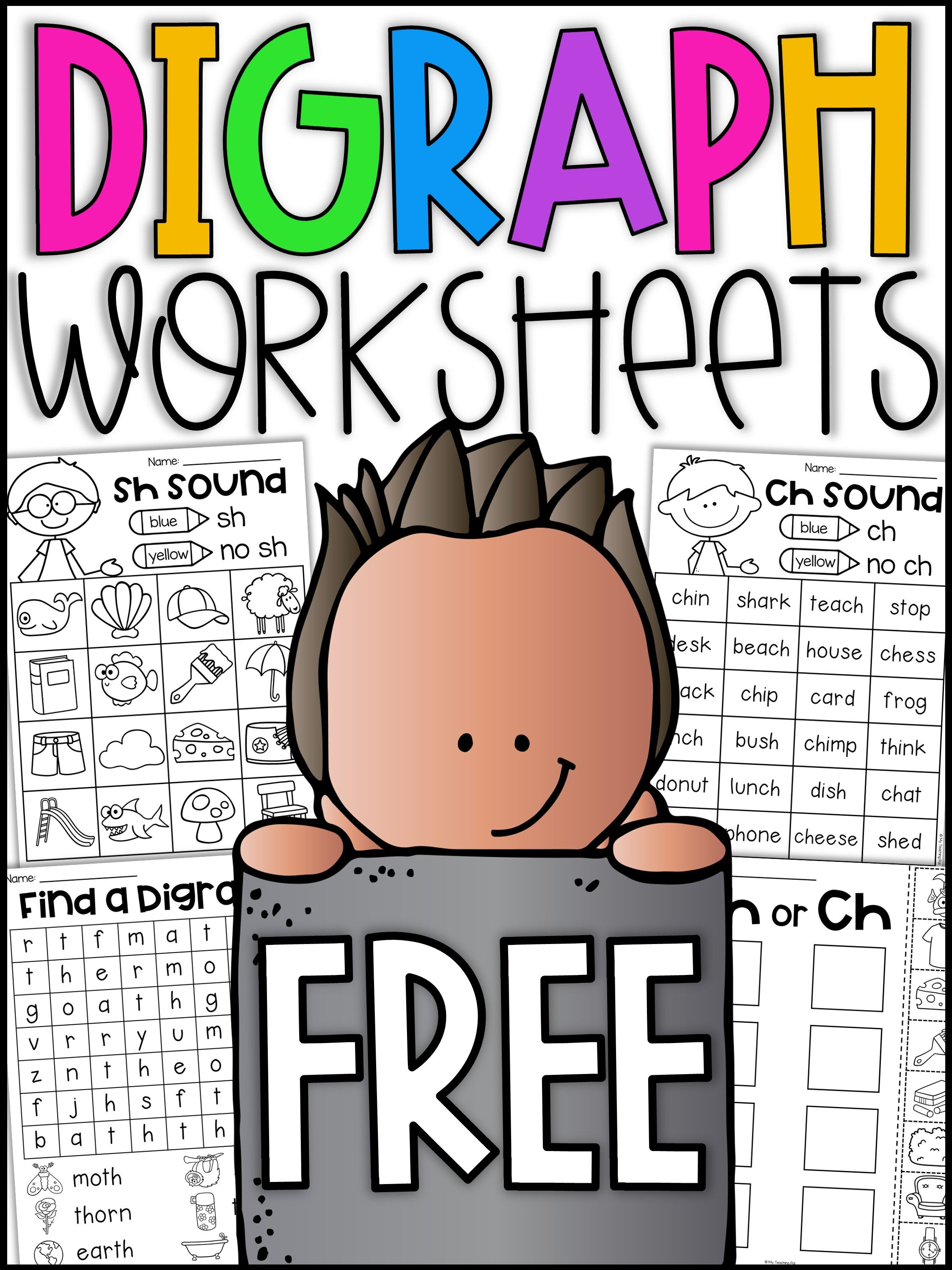 12 Best Digraph Worksheets Images On Best Worksheets