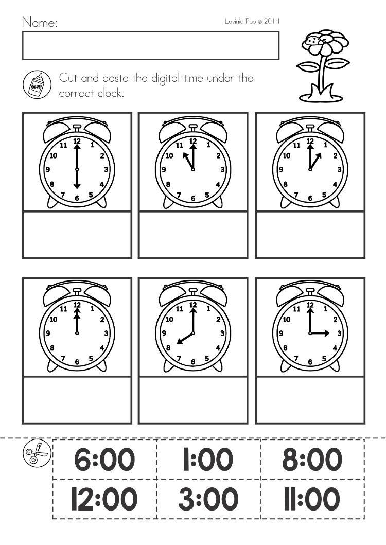 hight resolution of 12 Best Digital Time Worksheets images on Best Worksheets Collection