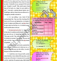 4 Best Bully Worksheets images on Best Worksheets Collection [ 1169 x 826 Pixel ]
