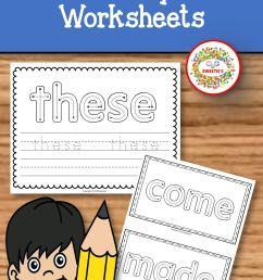 Sight Words Worksheets For 3rd Grade   Printable Worksheets and Activities  for Teachers [ 2304 x 1536 Pixel ]