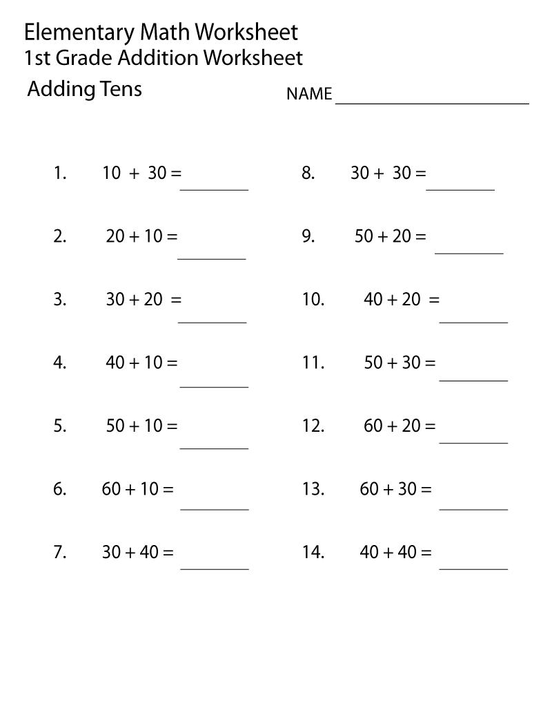 hight resolution of Grade 1 worksheets
