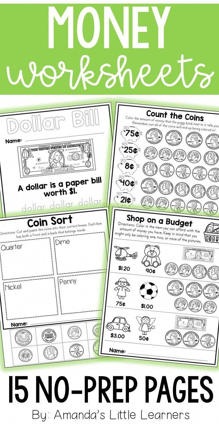 hight resolution of 19 Best Identifying Money Worksheets For 1st Grade images on Best Worksheets  Collection