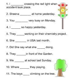13 Best 1st Grade Verb Worksheets images on Best Worksheets Collection [ 1024 x 768 Pixel ]