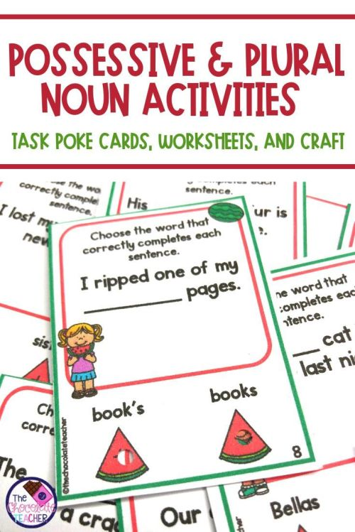 small resolution of Possessive Nouns Worksheets