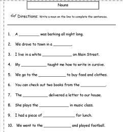 English Grammar Noun Worksheet For Grade 1 Elegant Nouns Worksheets on Best  Worksheets Collection 6616 [ 1650 x 1275 Pixel ]