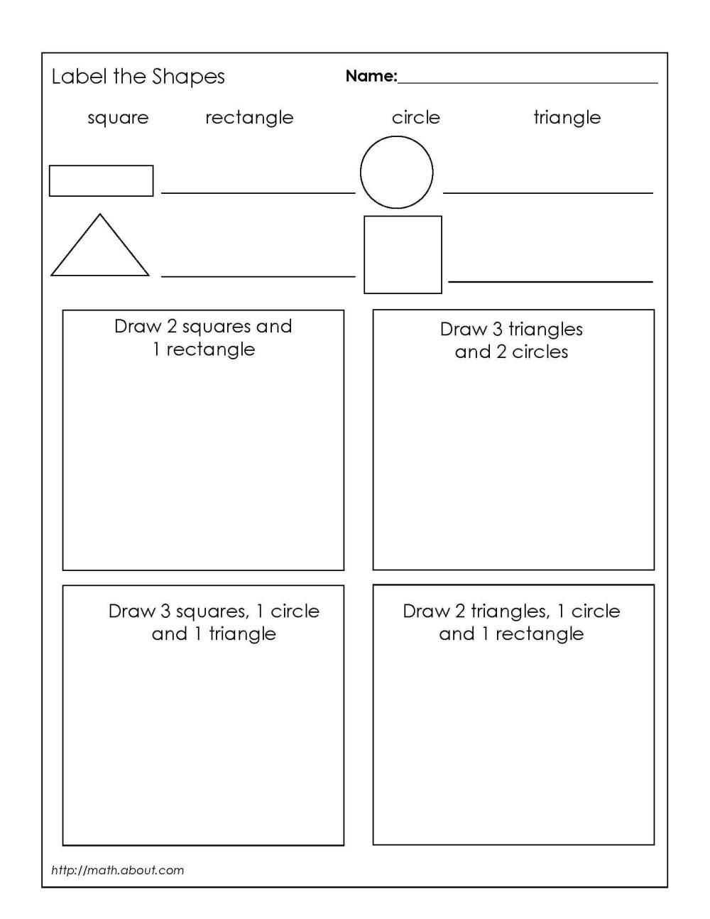 medium resolution of Grade 1 Geometry Worksheets First Grade Math Geometry Worksheets on Best  Worksheets Collection 2231