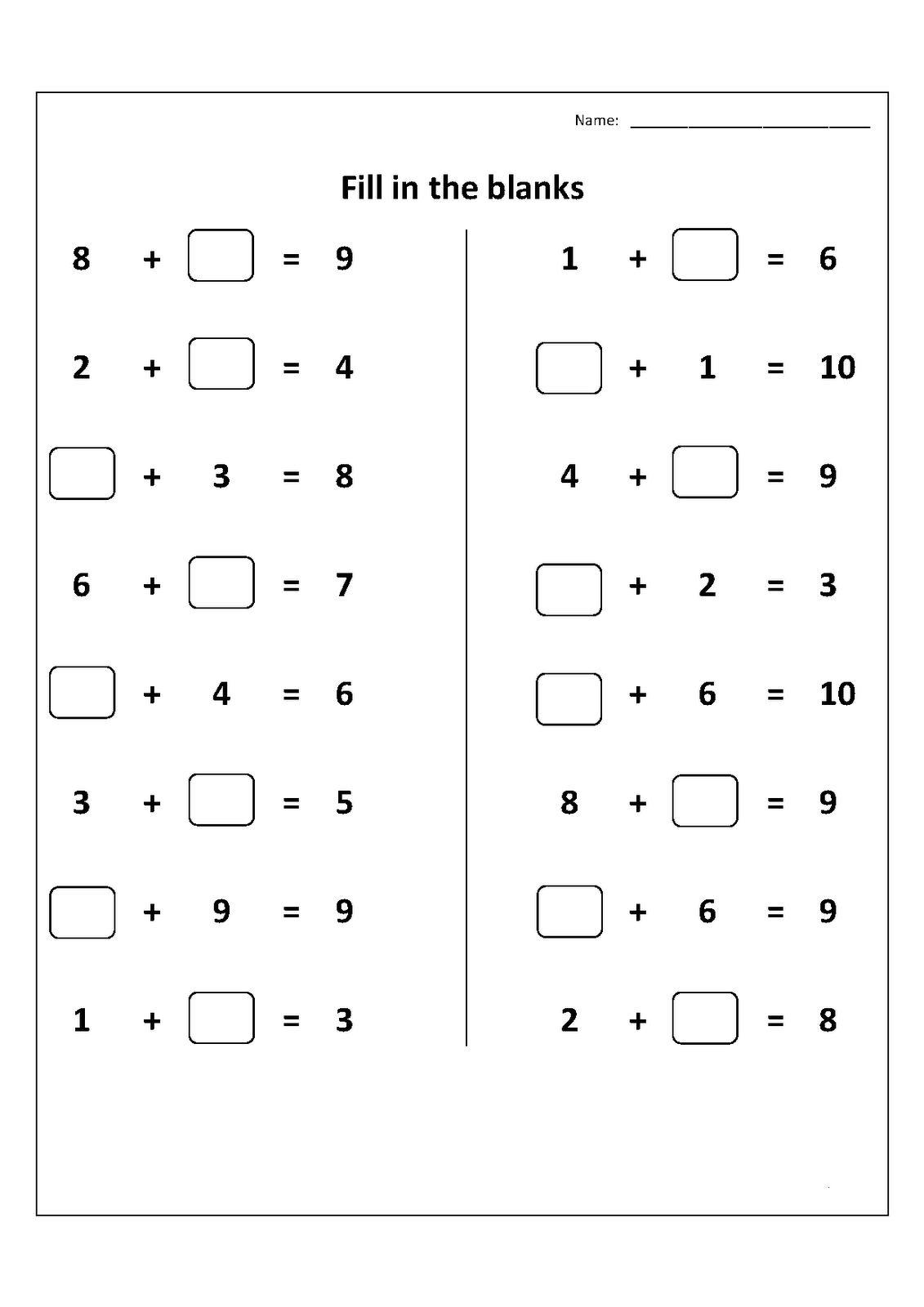 hight resolution of 1st Grade Worksheets   Christina Johnson Algebraic Thinking 1st on Best  Worksheets Collection 2262