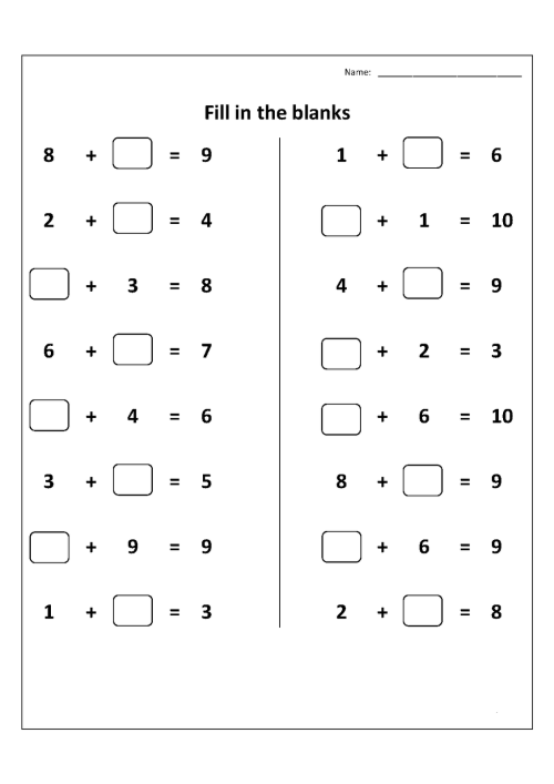 small resolution of 1st Grade Worksheets   Christina Johnson Algebraic Thinking 1st on Best  Worksheets Collection 2262