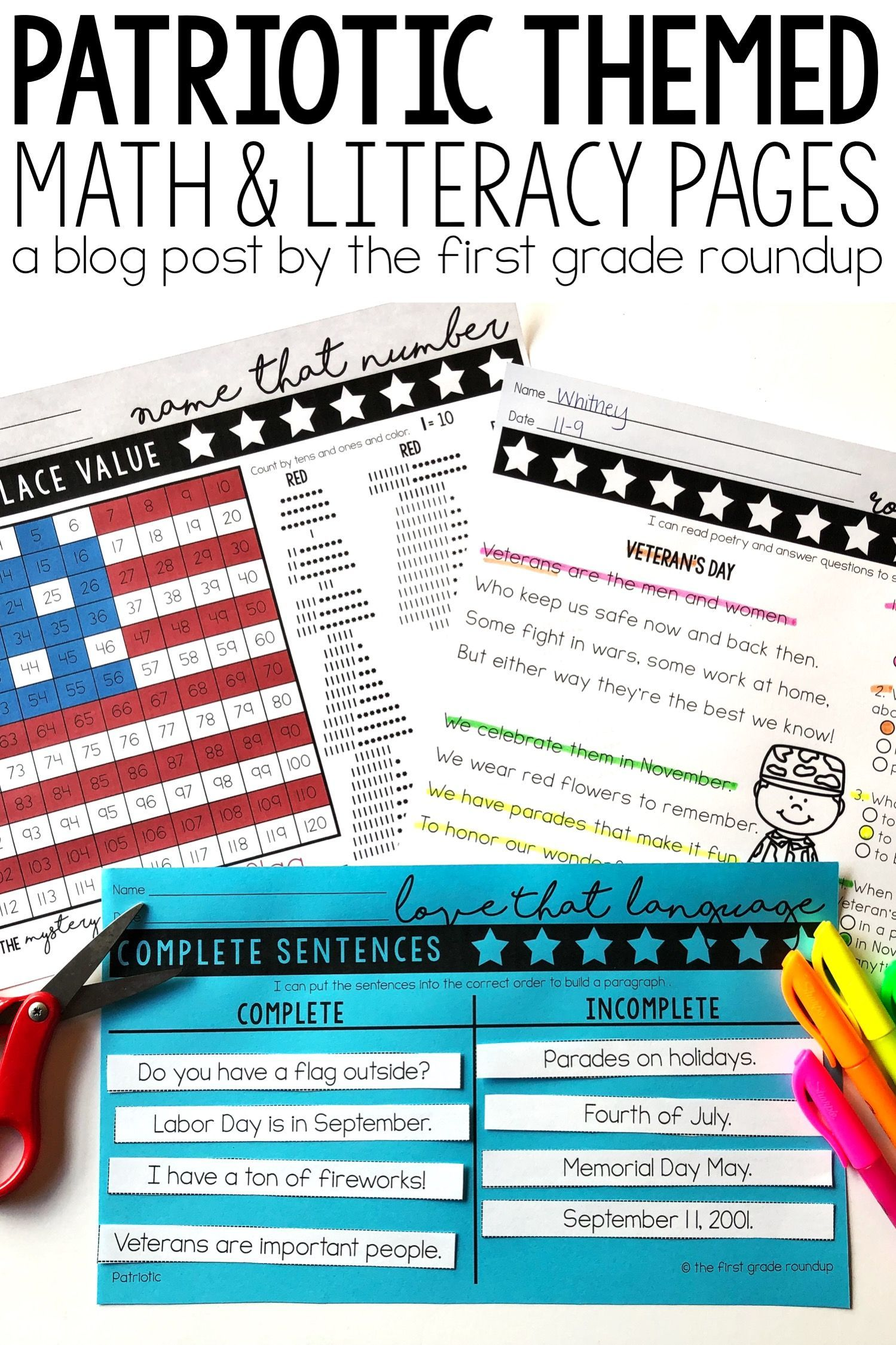13 Best 1st Grade Reading Worksheets To Print Images On