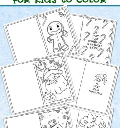 3 Free Printable Christmas Cards For Kids To Color   Worksheets on Best  Worksheets Collection 5945 [ 1222 x 698 Pixel ]