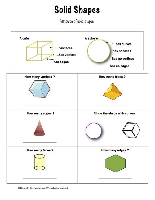 small resolution of Shapes Math Worksheets 1st Grade   Printable Worksheets and Activities for  Teachers