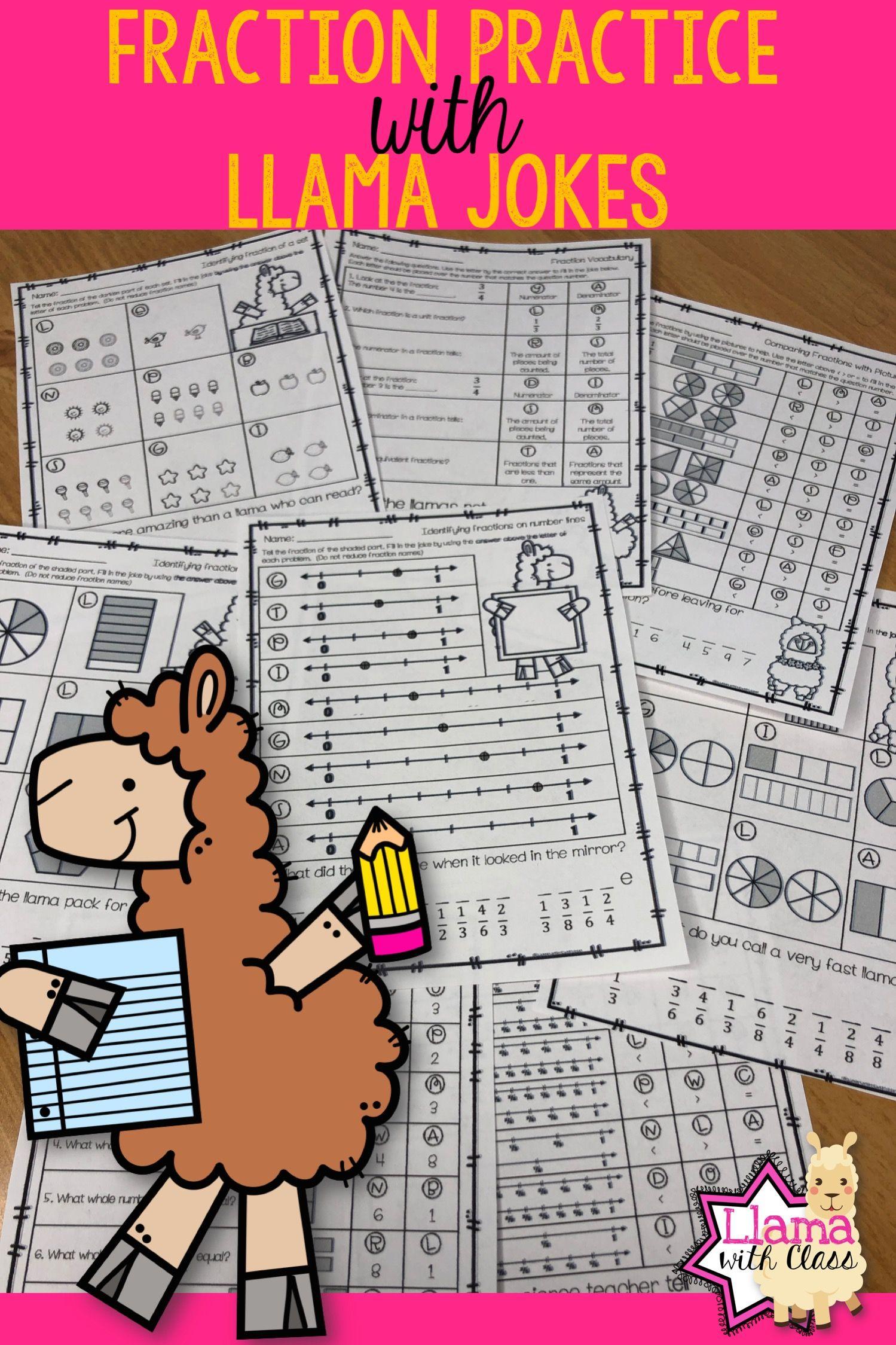 22 Best Printable Fraction Worksheets 3rd Grade Images On