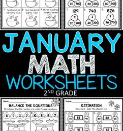 January Math Worksheets   Resources For Teachers All Grades  Prek on Best  Worksheets Collection 4195 [ 1308 x 736 Pixel ]