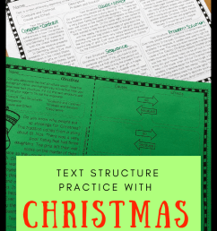 Christmas Text Structure Worksheets   Upper Elementary Lesson Ideas on Best  Worksheets Collection 3374 [ 1102 x 735 Pixel ]