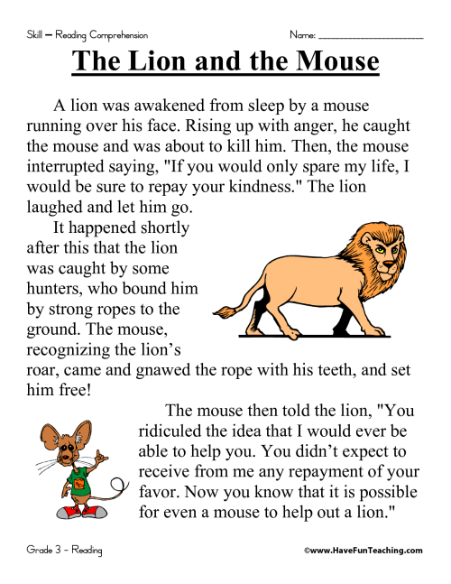 small resolution of 16 Best Grade 3 Reading Comprehension Worksheets images on Best Worksheets  Collection