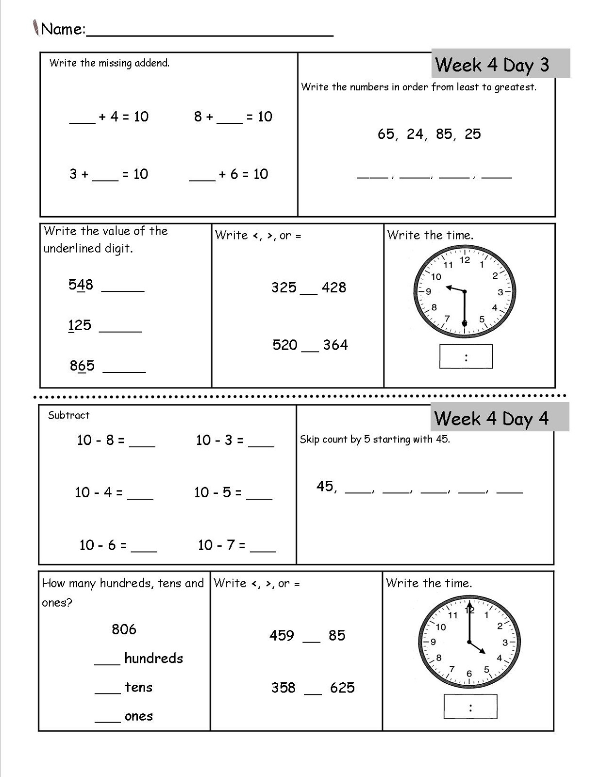 Bing Math Worksheets 6th Grade