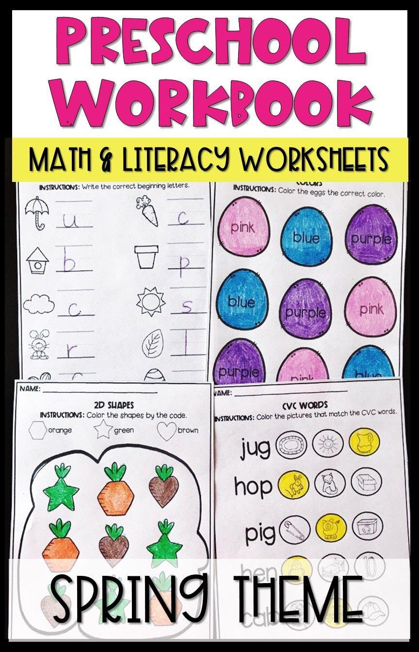 hight resolution of Spring Preschool Worksheets April   April Kinder - 2nd Grade on Best  Worksheets Collection 1503