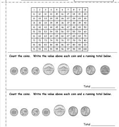 Printable Quarter Worksheet   Printable Worksheets and Activities for  Teachers [ 1650 x 1275 Pixel ]