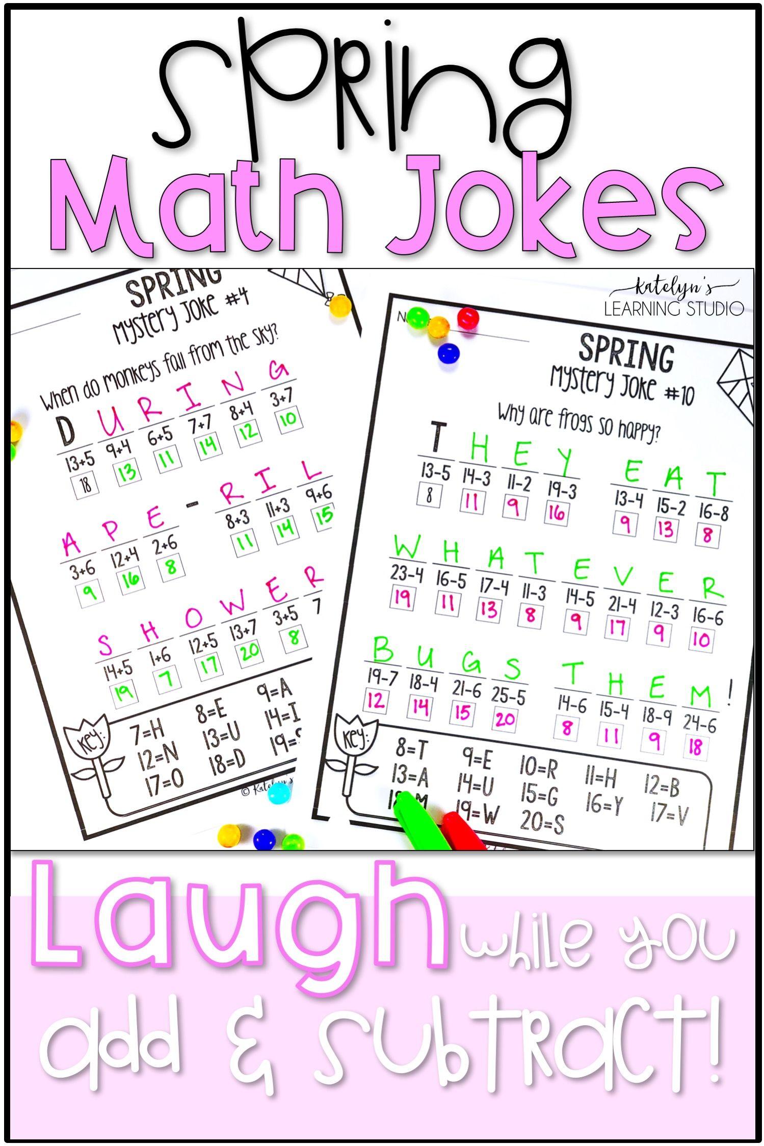 15 Best Spring Math Addition Worksheets Images On Best