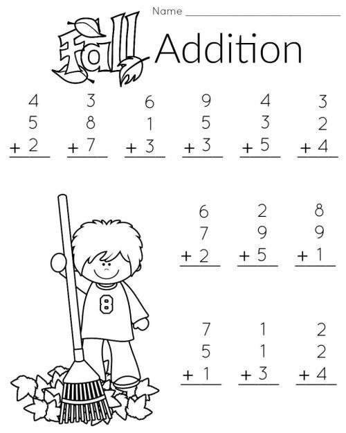small resolution of 20 Best Kindergarten Math Worksheets Adding images on Best Worksheets  Collection