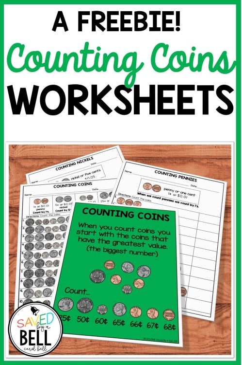 small resolution of Free Counting Coins Worksheets   Saved By A Bell Teaching Resources on Best  Worksheets Collection 1945