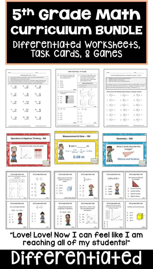 small resolution of 8 Best Back To School Worksheets 5th Grade images on Best Worksheets  Collection