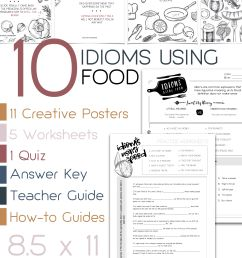 Idioms Worksheets Printable   Printable Worksheets and Activities for  Teachers [ 4500 x 3000 Pixel ]