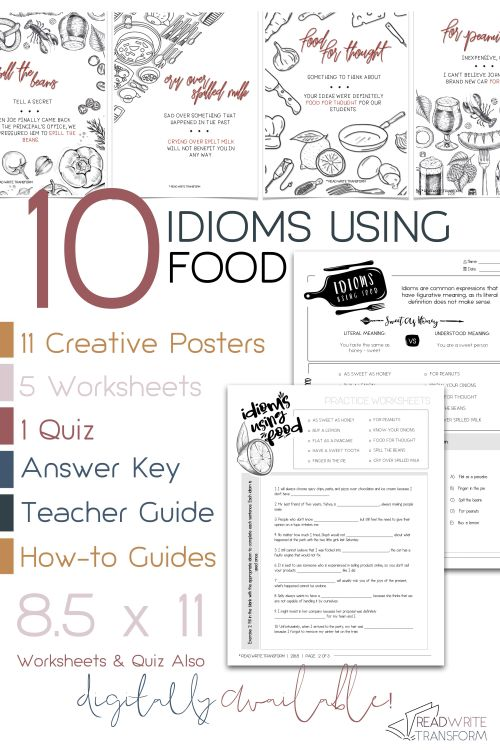 small resolution of Idioms Worksheets Printable   Printable Worksheets and Activities for  Teachers