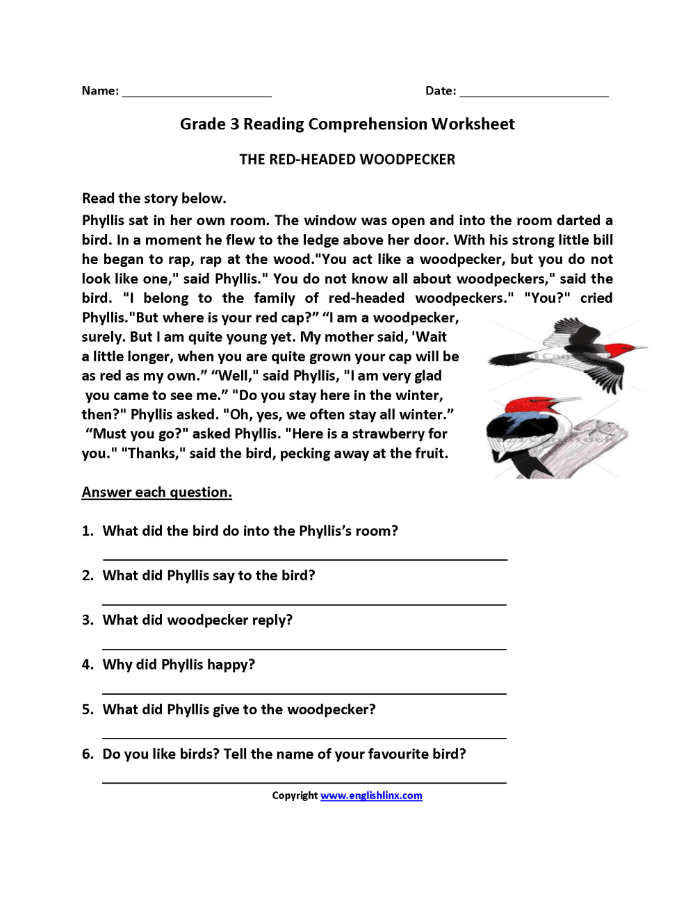 medium resolution of Free Tales Of A Fourth Grade Nothing Worksheets   Printable Worksheets and  Activities for Teachers