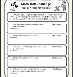 12th Grade Math Worksheets And Answers   Printable Worksheets and  Activities for Teachers [ 3072 x 2347 Pixel ]