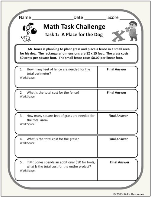 small resolution of 12th Grade Math Worksheets And Answers   Printable Worksheets and  Activities for Teachers
