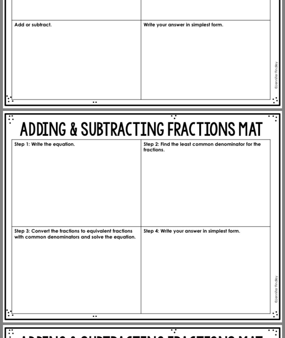 medium resolution of 20 Best Addition And Subtraction Fraction Worksheets images on Best  Worksheets Collection