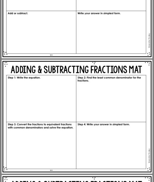 small resolution of 20 Best Addition And Subtraction Fraction Worksheets images on Best  Worksheets Collection