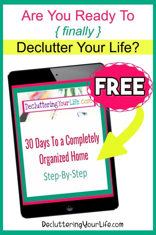 Home Organization Worksheets Free Printable Organization
