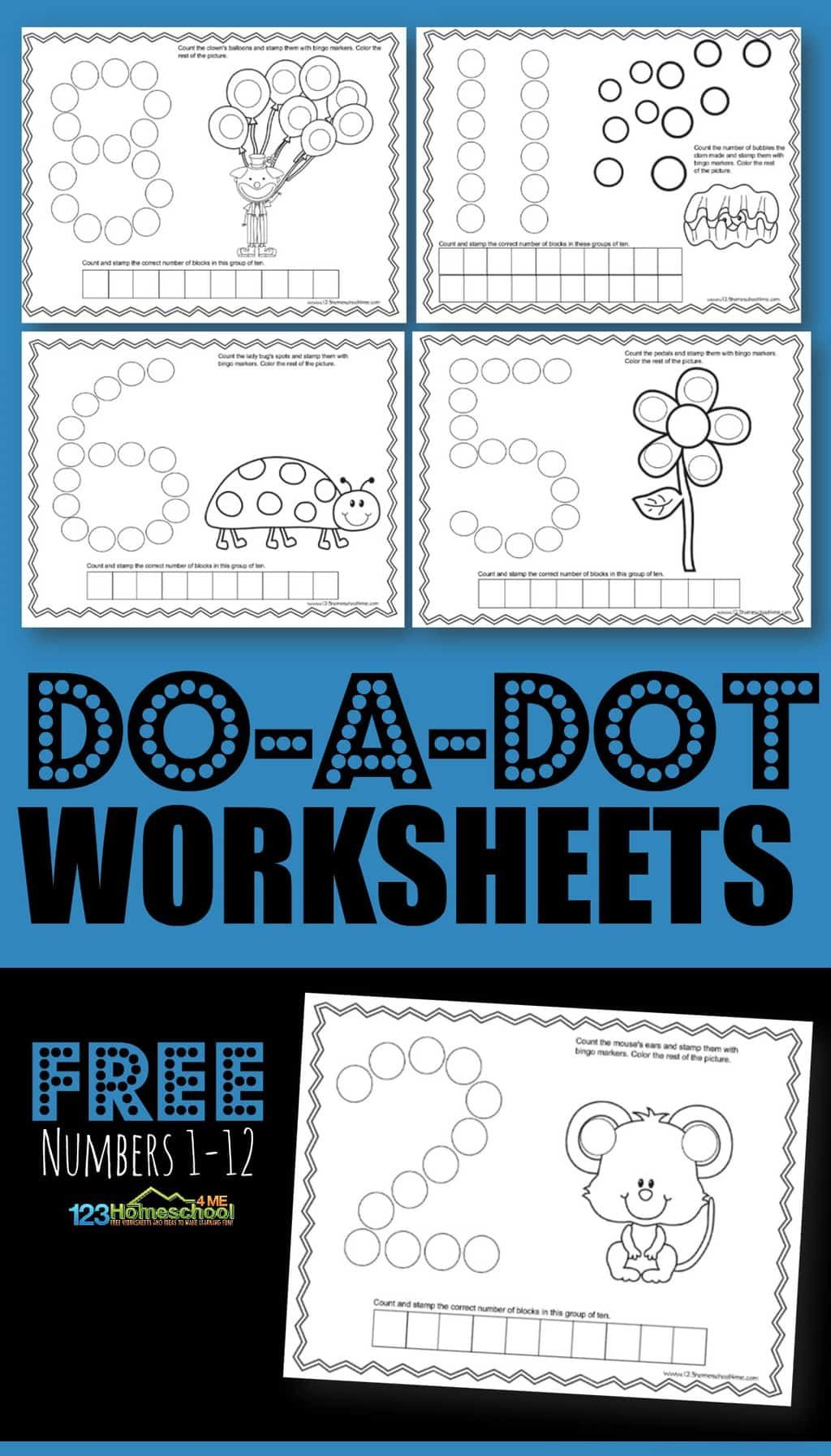 9 Best Counting Objects 1 20 Worksheets Images On Best