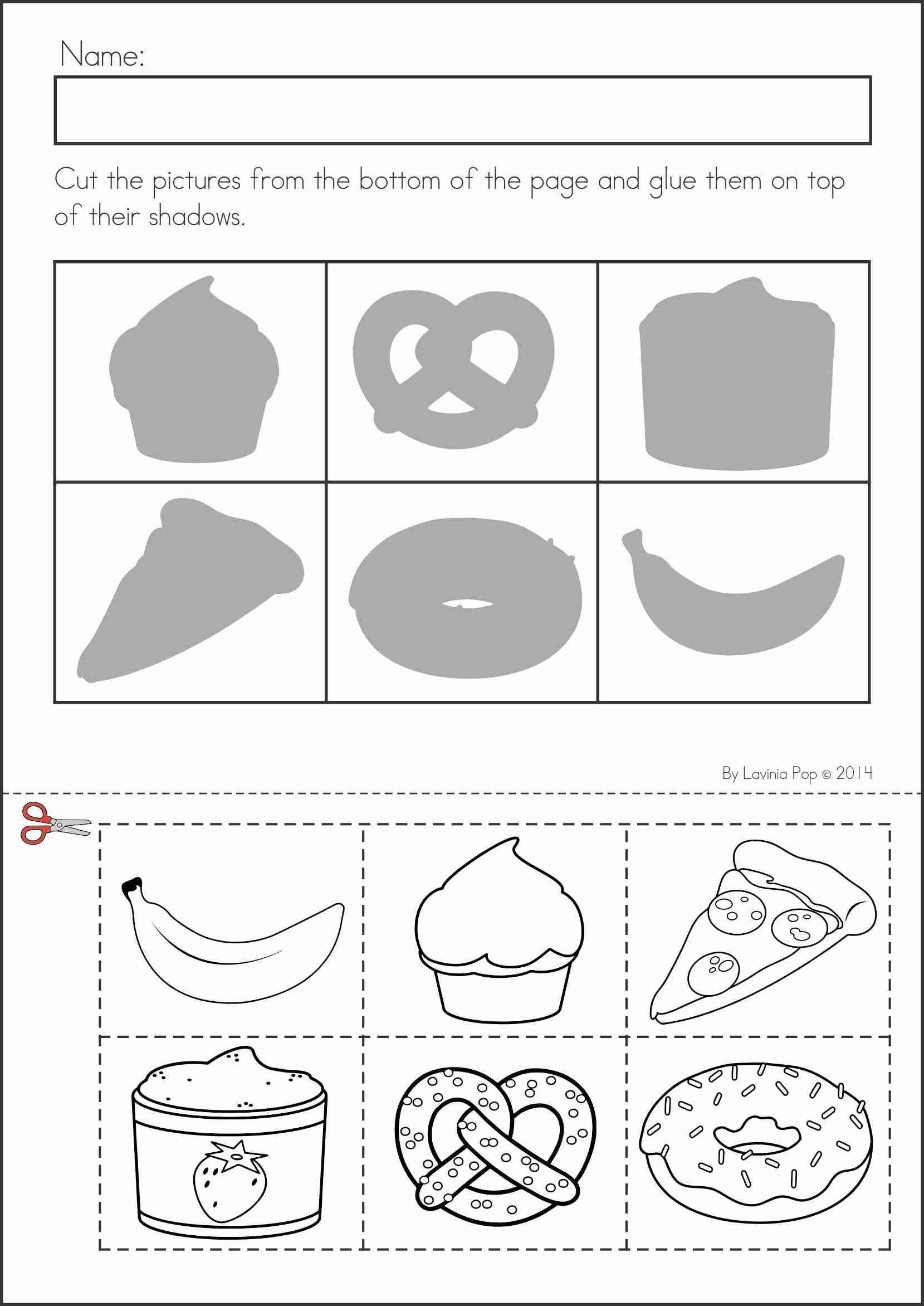 hight resolution of Preschool Matching Worksheet   Wkst   Kindergarten Worksheets on Best  Worksheets Collection 2644