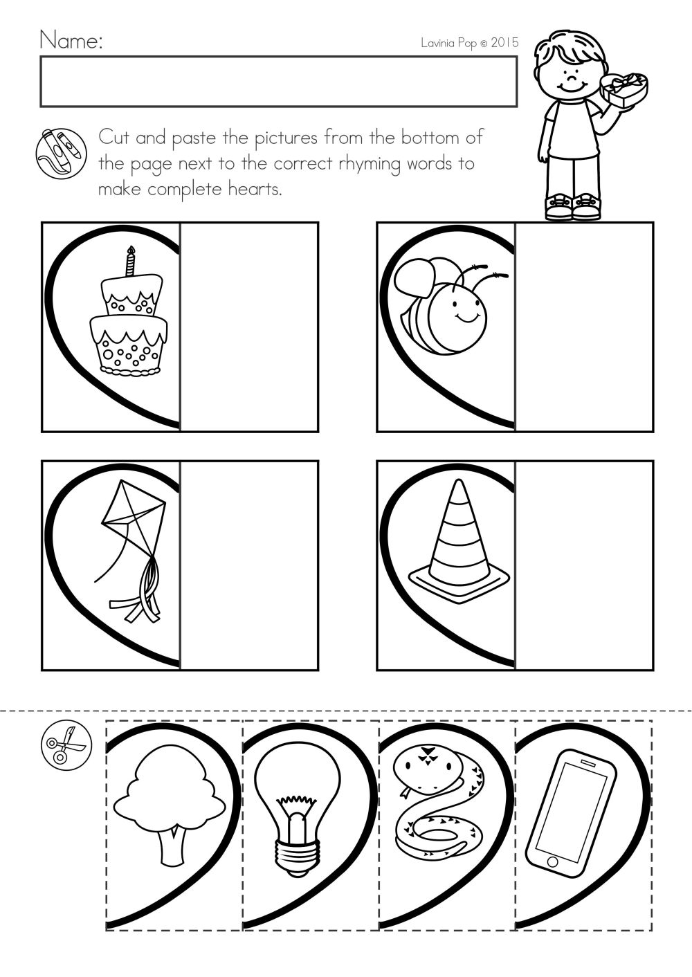 medium resolution of Valentine Math Worksheets Vpk   Printable Worksheets and Activities for  Teachers