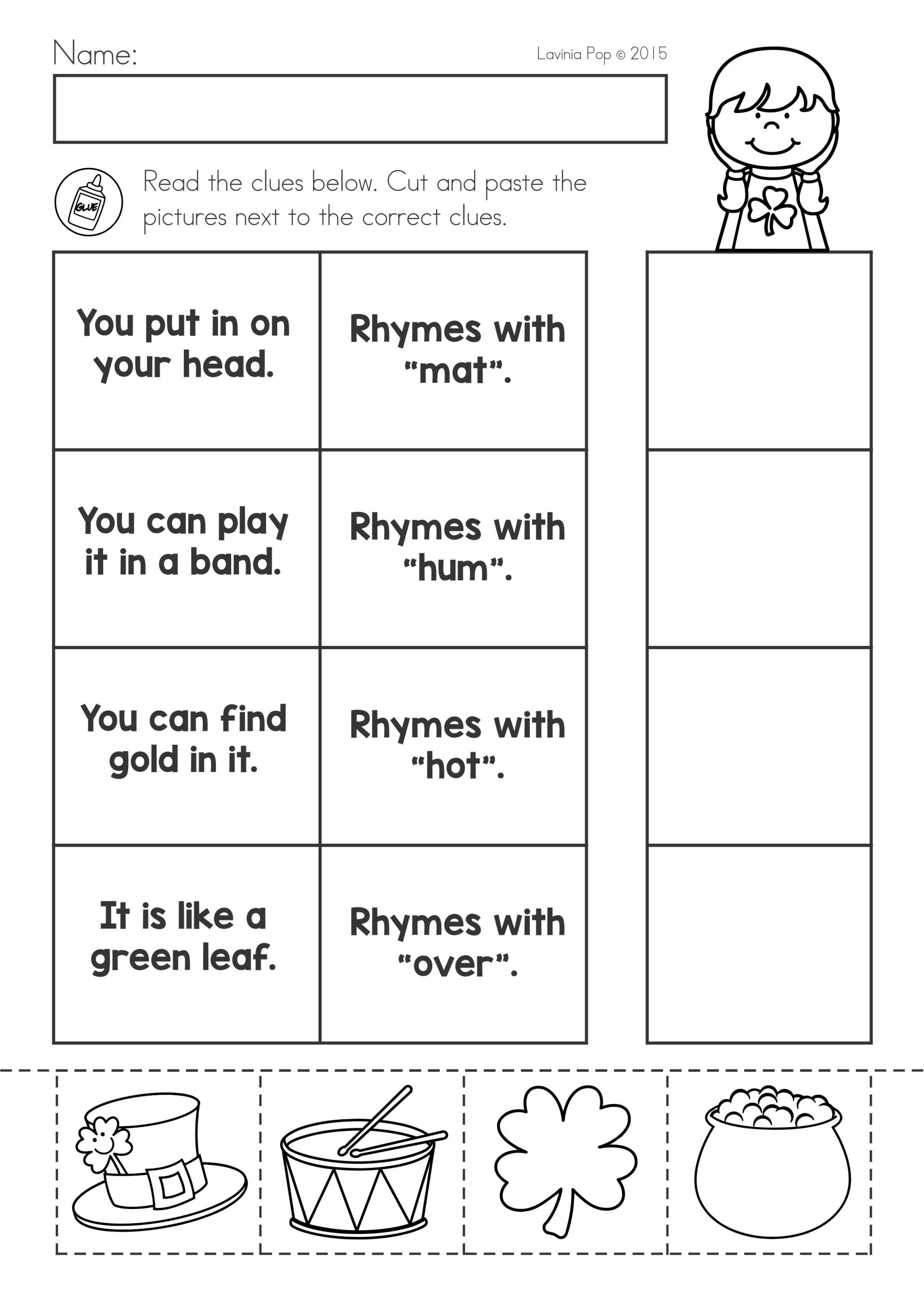 hight resolution of St Patrick's Day Math \u0026 Literacy Worksheets \u0026 Activities No Prep on Best  Worksheets Collection 7848